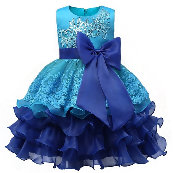 Wish | Lovely Baby Kids Lace Ceremonies Party Tutu Dresses Children ...
