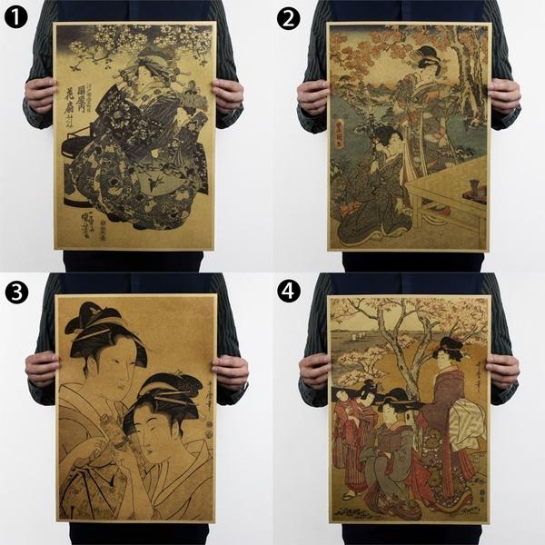 Collectibles, Wall Art, Home Decor, geisha
