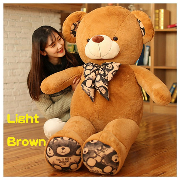 Wish printed tie bear bear plush toy teddy bear doll big bear bear wish printed tie bear bear plush toy teddy bear doll big bear bear dolls pillow publicscrutiny Gallery
