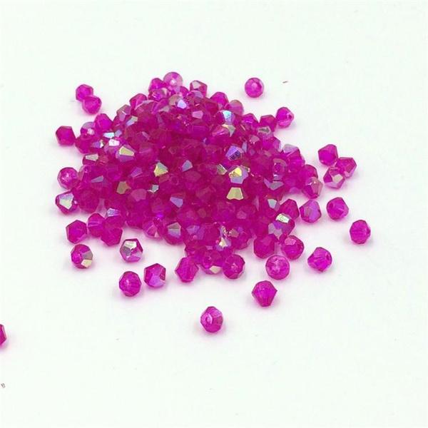 bicone, crystalsbead, Jewelry, Rose