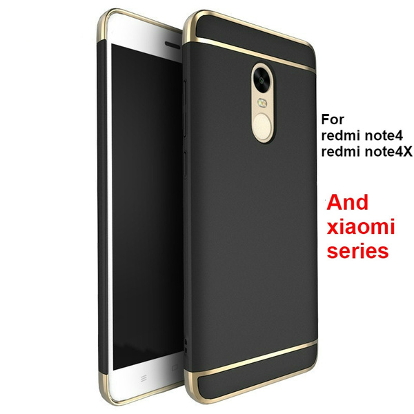 promo code 39903 3e74e For Xiaomi Redmi Note 4 Note 4x Case Cover Original Hybrid Shockproof Hard  PC Back Cover Case for Xiaomi Series Phone Case