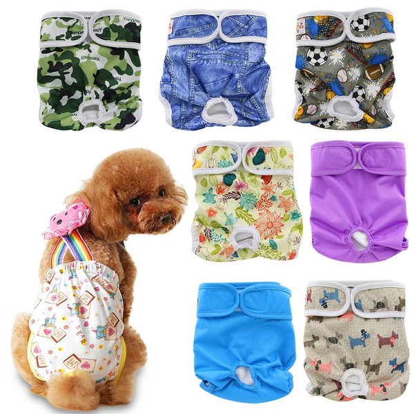 S Pet Parents Washable Dog Diapers 3 pack of Durable Doggie Diapers XS L M