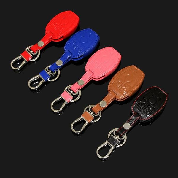 New design leather cover wallet key remote case For Mercedes Benz W203 W210  W211 AMG W204 C E S CLS CLK CLA SLK Classe