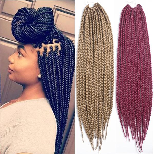 best quality box braid extensions crochet afro jumbo twist crochet hair  extensions senegalese hair braiding wavy hair extensions blonde hair weave