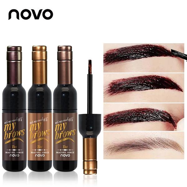 Picture of Peel Off Dye Eyebrow Wax Paint Tint My Eye Brows Gel Sombrancelha Enhancer Long Lasting Easy To Wear Beautiful Seduce Brand