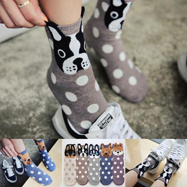 Cotton Socks, Gifts, cartoonanimalsock, Socks