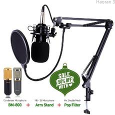 Microphone, Fashion, bm800, condensermicrophone
