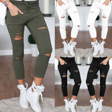 womens ripped leggings