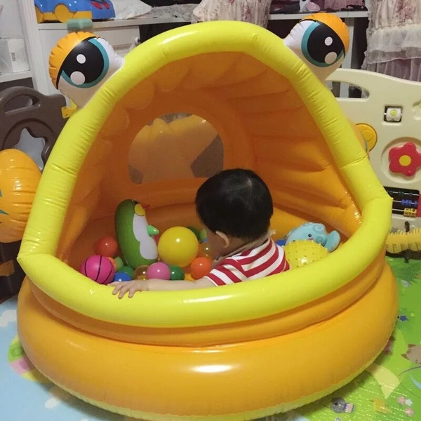 Wish | Genuine plimpies inflatable swimming pool round sun pool Baby ...