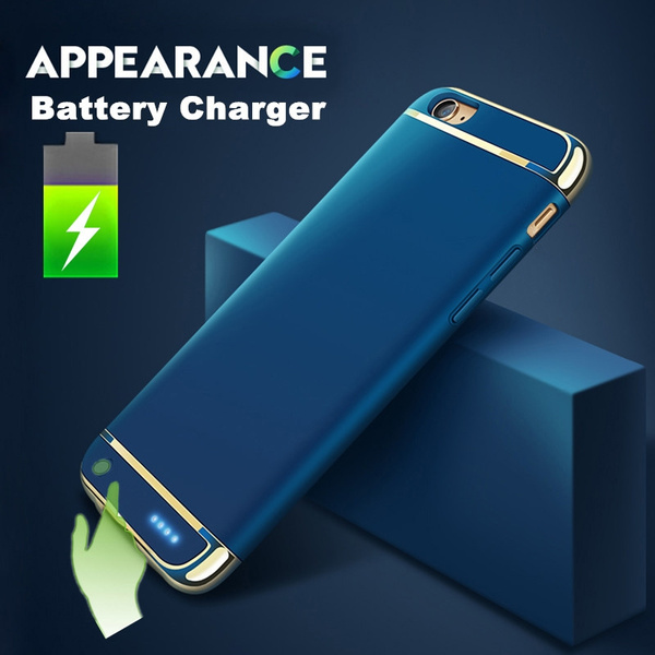 Picture of 2017 Portable Traveling Battery External Rechargeable Batteries Charger Backup Power Bank Back Case Cover For Iphone 7 7 Plus Iphone 6s 6s Plus 6 6 Plus