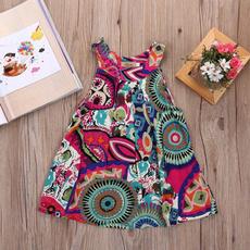 Summer, Flowers, Princess, Dresses