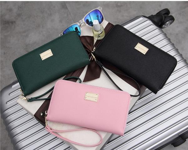 Picture of Lady Femmes Sac Embrayage Portefeuille Petit Sac De Dtenteur De Cartelady Women Long Leather Purse Clutch Wallet Small Bag Card Holder