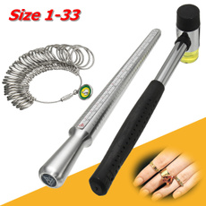 Steel, Stainless Steel, Jewelry, ringscale