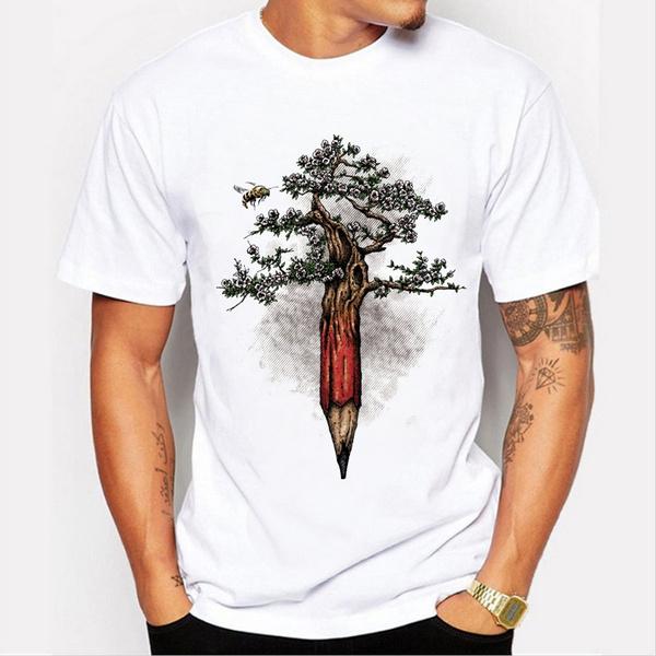 Summer, Fashion, Shirt, Casual T-Shirt