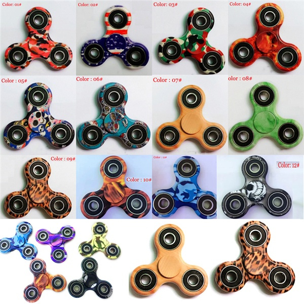 Picture of Tri-spinner Fidget Spinner 3d Printing Hand Spinner Edc Focus Toy For Killing Time