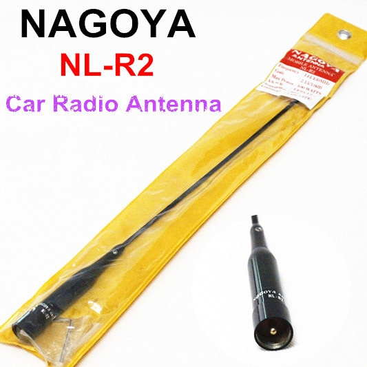 Nagoya Nl-r2 Dual Band Vhf+uhf 144/430mhz Antenna For Car Bus Mobile Ham  Radio