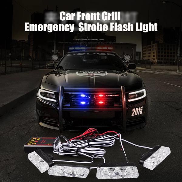 DC 12V Strobe Warning light LED flash light Ambulance Police light Car  Truck Light Flashing Firemen Lights