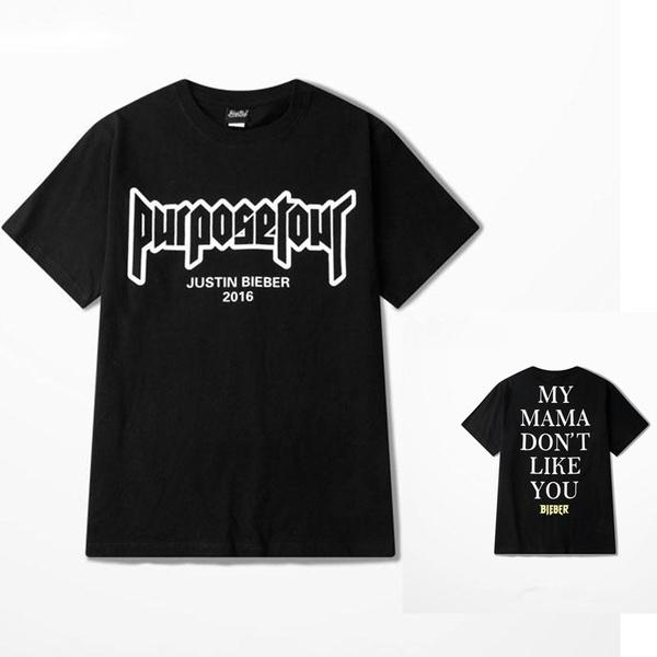 636ea96c6 Justin Bieber Fear of God Purpose Tour T Shirt Men/Women My Mama ...