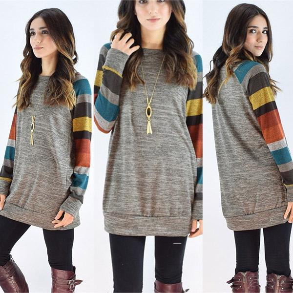 Fashion, Sleeve, kniteedsweater, Tops