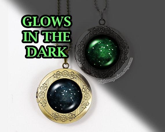 Dark, zodiacnecklace, Jewelry, Vintage