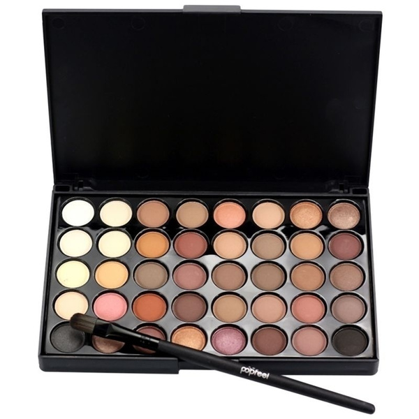 Picture of 40 Colors Cosmetic Matte Eyeshadow Cream Eye Shadow Makeup Palette Shimmer Set