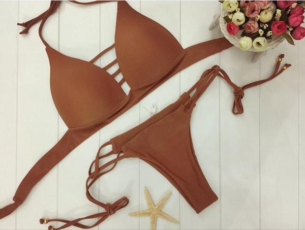 Sexy Padded Push-up 2 Pieces Bikini Set