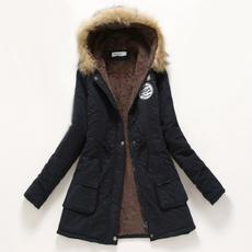 Jacket, hooded, fur, Winter