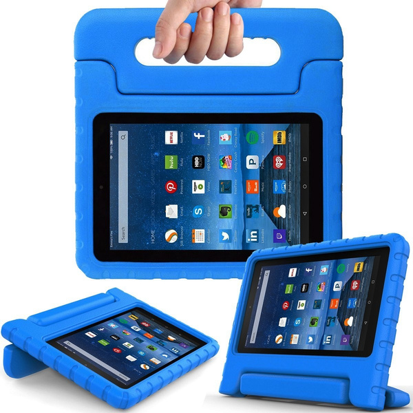 Kids Case for Fire 7 2015 - Light Weight Shock Proof Convertible Handle  Stand Kids Friendly for Amazon Kindle Fire 7 inch Display Tablet (5th