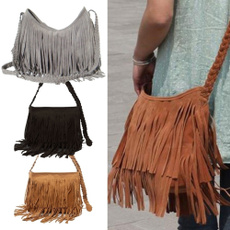 Shoulder Bags, Tassels, Fashion, Messenger Bags