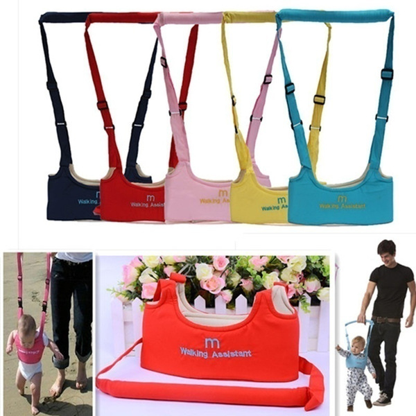 Baby Safe Infant Walking Belt Kid Keeper Walking Learning Assistant Toddler Adjustable Strap Harness Liu