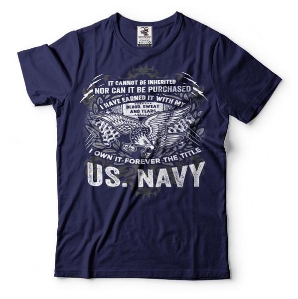 Navy T-Shirt US Forces Navy Seals Tee Shirt