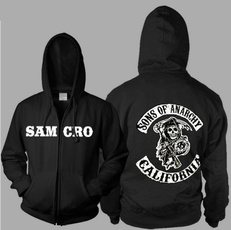 Fashion, sonsofanarchycoat, Gifts, Sons of Anarchy Hoodie