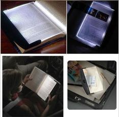 wedge, paperback, led, portable