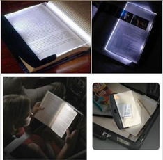 wedge, paperback, led, portable