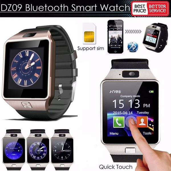 Picture of Bluetooth Sports Smart Watch Phone Mate Gsm Sim For Ios Iphone Samsung