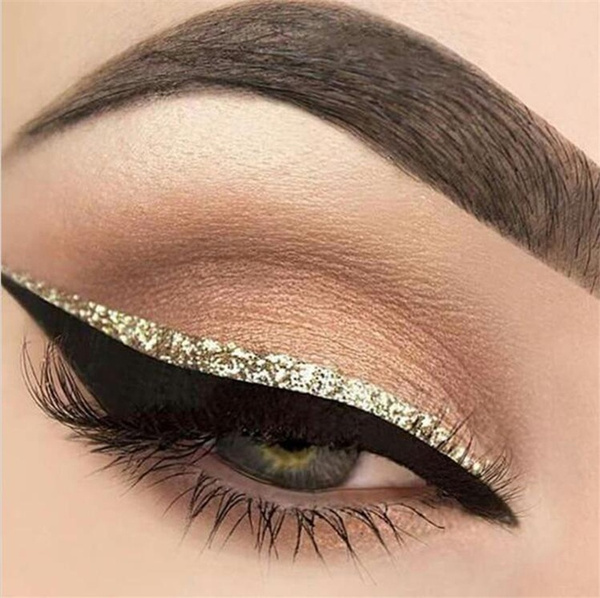 Liquid Glitter Eyeliner Eyeshadow Shiny Long Lasting Waterproof Makeup Cosmetic