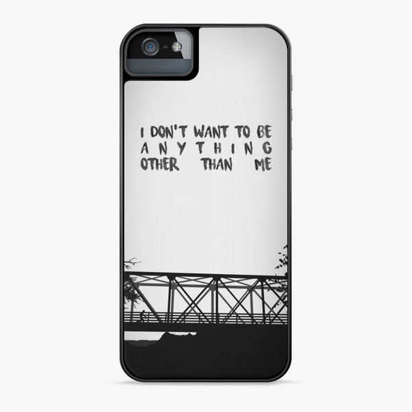 pretty nice f1b59 b5207 I Don't Want To Be One Tree Hill Pattern Phone Case for iPhone and Samsung