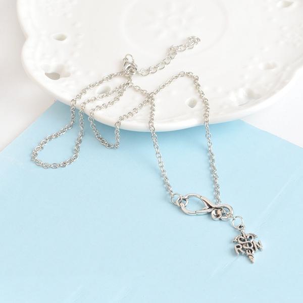 Wish Personalized Jewelry Stethoscope Caduceus Cross Medical