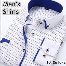 long sleeve cotton shirts mens
