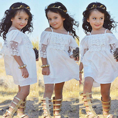 Fashion, Lace, kids clothing, Dress