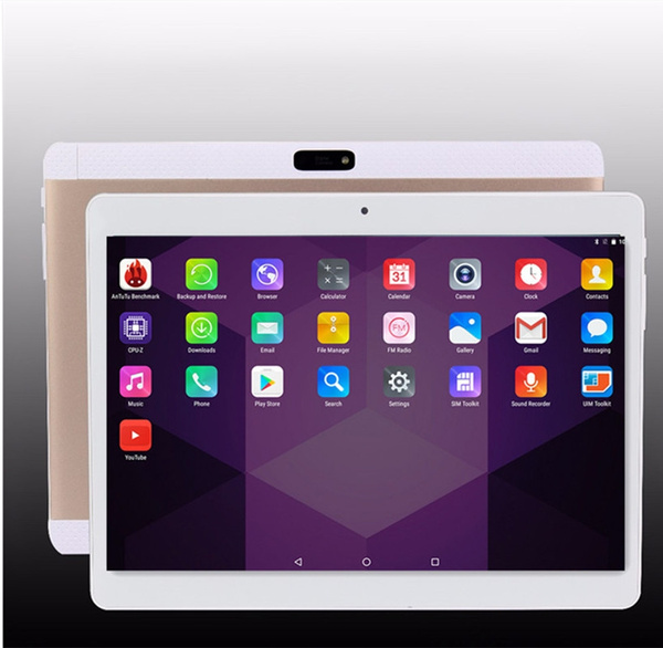 Picture of 2017 New 3g 4g Lte Metal 10.6 Inch Octa Core Android 6.0 Tablet Pc Ram 4gb/rom 64gb Ips 25601600 Tablet 2.0mp/8.0mp Wifi Tablets Gps Navigatorcolorgold / Pink / Silvery / Black