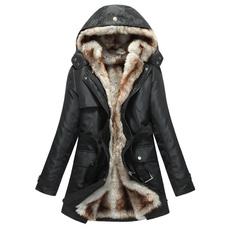 Hood, Plus Size, fur, Winter