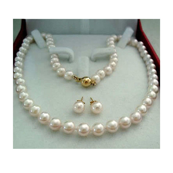 pearls, Set, aaa, Jewelry