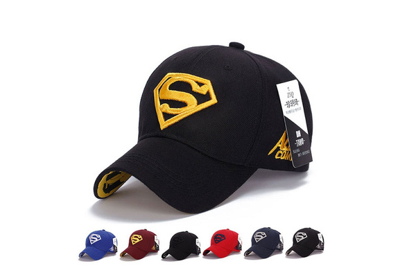 Quality Awesome Cap Superman Snapback Hat, Cheap Baseball Steampunk Movie Crochet Caps Snapbacks Superman Hats, Basketball Hats for Men Women Cap