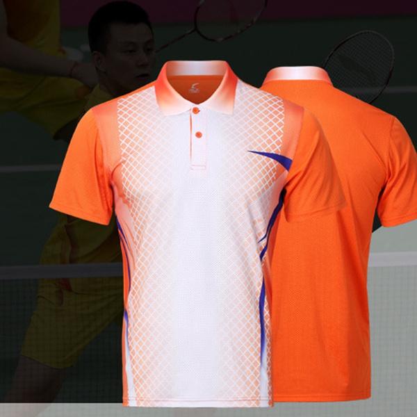 badmintonshirt, Plus Size, Shirt, Sports & Outdoors