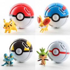 toybouncer, Toy, pokeball, Pikachu