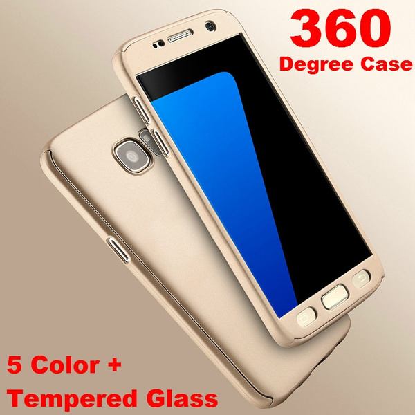 Picture of 360 Degree Full Body Phone Case Hybrid Front Back Cover Fundas For Samsung Galaxy S8 / S8 Plus / A3 2017 / J3 2017 / S7 / S6 Edge / Note5