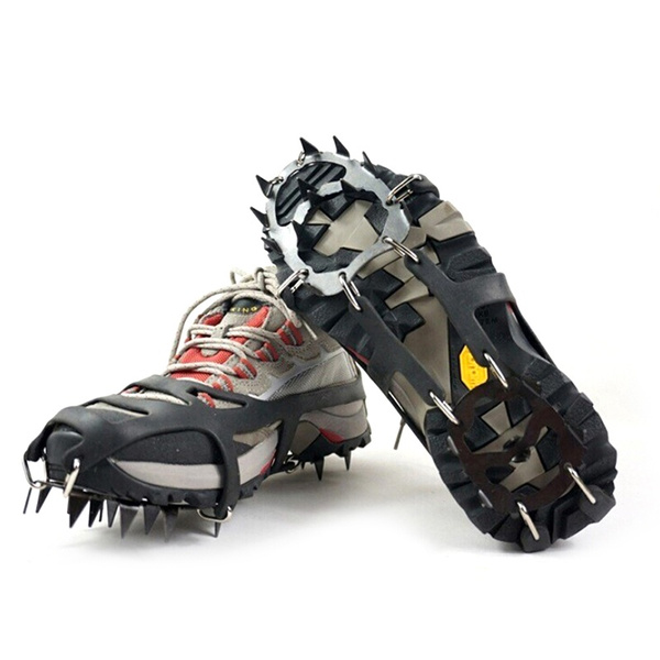Over The Show Snow And Ice Grips Spikes Snow Cleats Grippers Crampons 1P