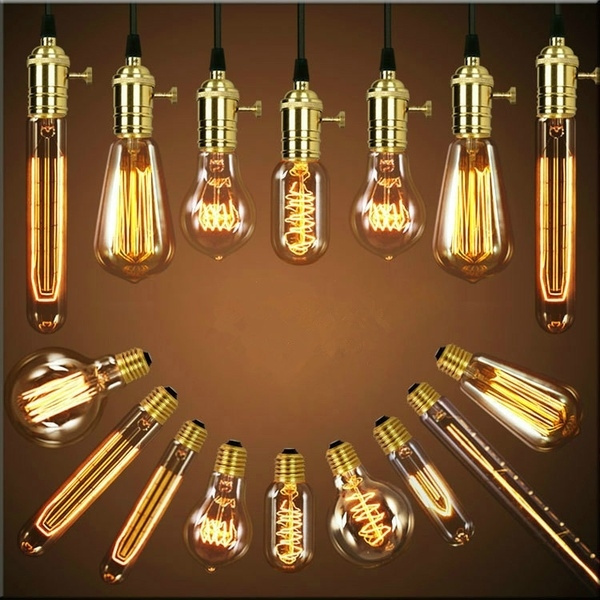 Picture of E27 E14 40w 220v Light Bulbs Vintage Retro Industrial Style Edison Lamp Restaurant Bar Coffee Shop Bedroom