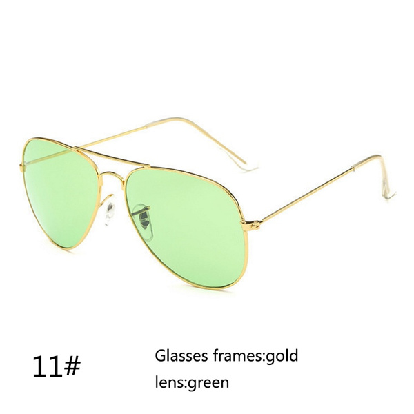 Wish | New Creative Accessories Vintage Retro Men Women Polarized Driving Glasses Mirror Anti-UV Sunglasses Outdoor Aviator Driving Eyewear UV400 Sunglasses ...